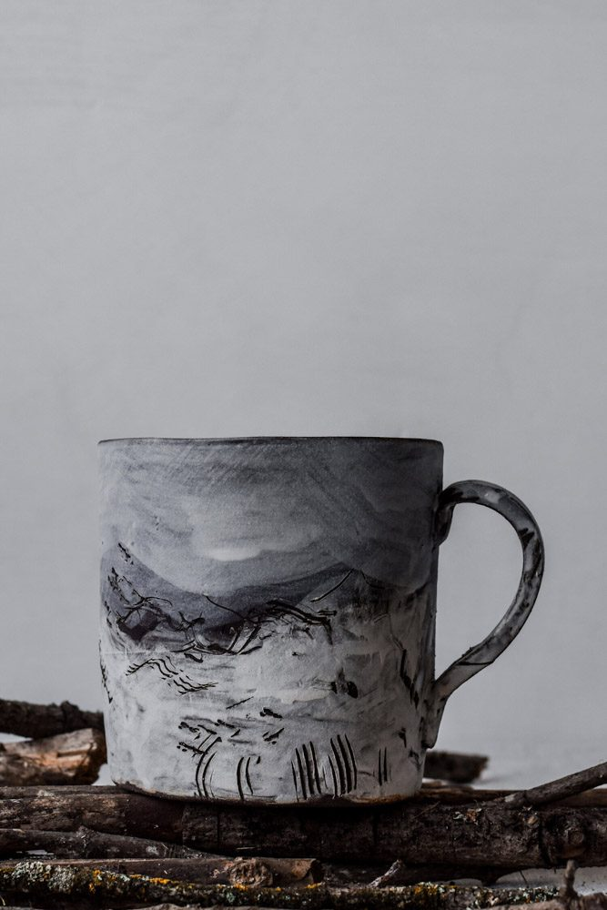 Terrain Handmade Ceramic Mug No. 05 by Hand + Fire