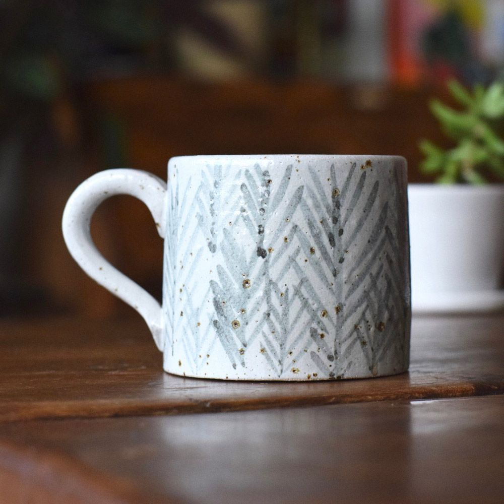 'Rye' Handmade Pottery Mug by Kate Brigden Ceramics