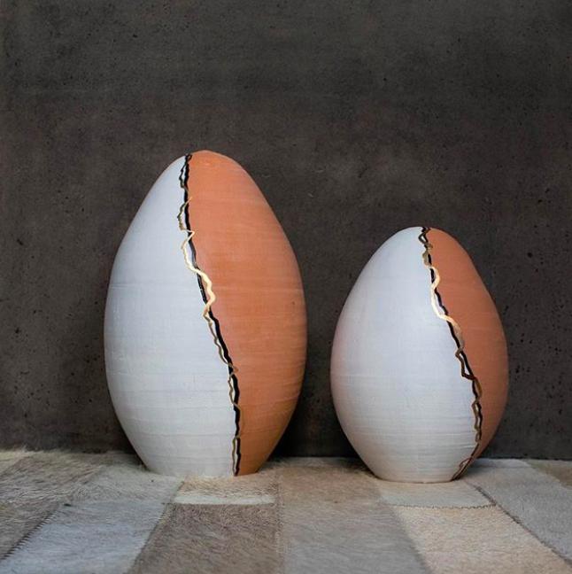 Ovo Handmade Ceramic Egg Sculpture